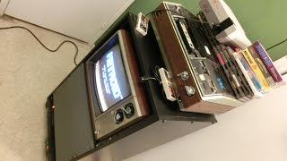 Random Bits 0139: Server Cabinet as TV stand with Battery Backup (UPS)