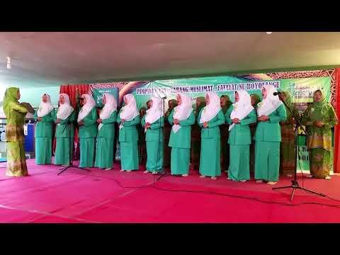 HYMNE MUSLIMAT By Muslimat Fatayat NU Kendalbulur TULUNGAGUNG 2017