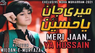 Meri Jaan Ya Hussain   New Noha 2021   Wildan e Murtaza   New Nohay 2021   Muharram 1443