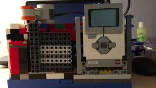 Сейф из Lego Ev3