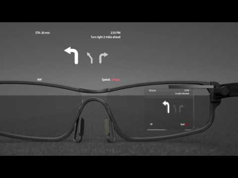 Dongjin Kim   Eyeglasses with Integrated Head's Up Display