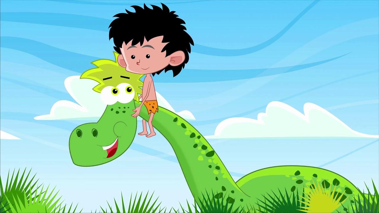 Dino Dinozaur Piosenki Dla Dzieci Bajubajutv