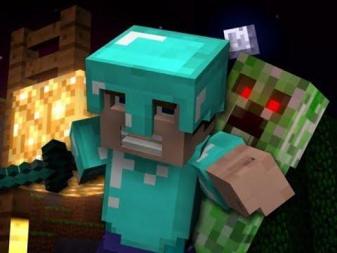 Мультфильм про Minecraft (На Английском языке)