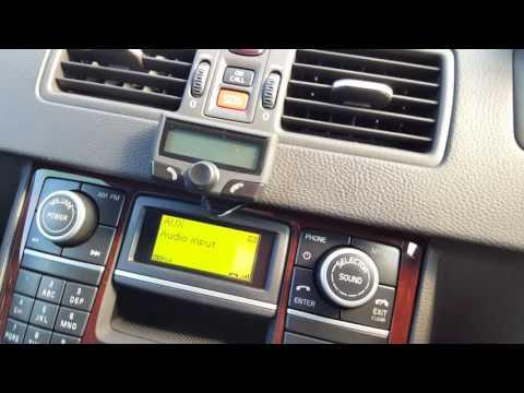 Volvo XC90 Aftermarket Kenwood Double Din Navigation | Doovi