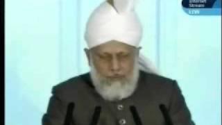 Проповедь Хазрата Мирзы Масрура Ахмада, (09-04-10) часть 5