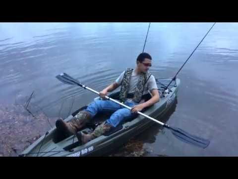 Duck Hunting Kayak >> My New Fishing Kayak (Sun Dolphin Journey 10 SS) - YouTube