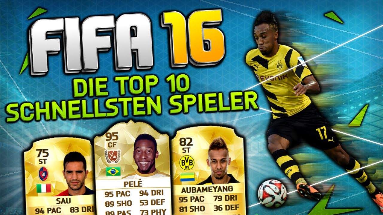 Fifa Schnellste Spieler
