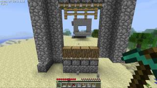 Tutorial Minecraft Piston Gate (BETA 1.8.1)