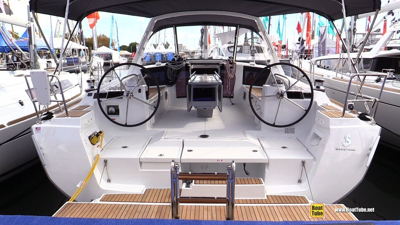2017 Beneteau Oceanis 45 Yacht Deck And Interior Walkaround 2017 Annapolis Sail Boat Show