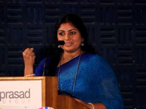 Sriranjani at VANMHAM Press Meet