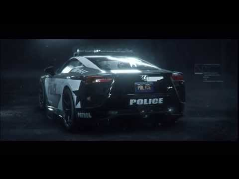 "Need For Speed Rivals Lexus LFA Police Unlock and Chapter 5 ""Go Rogue"" Cut Scene"
