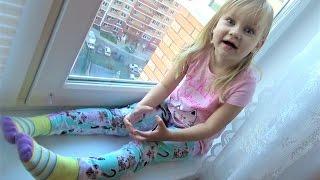 ВЛОГ У меня прямые волосы !!! Утро Алисы Как Алиса просыпается ! Сумашедший вечер