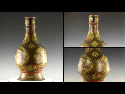 66844 Islamic Qajar Painted Vessel 66844