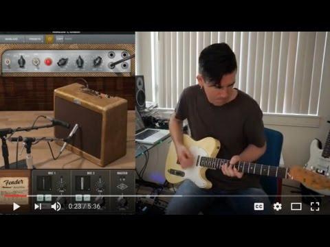Pete Thorn's Tones: ner 8 Fender 55 Tweed Deluxe