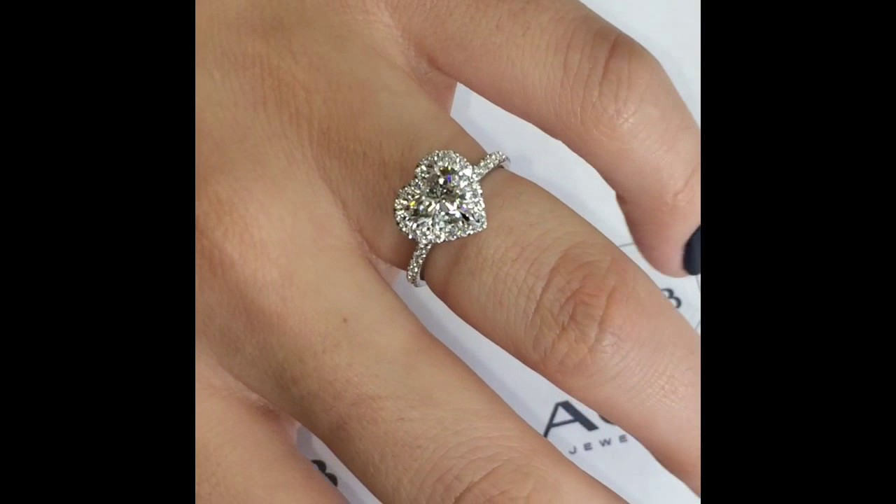 discount ring haul diamond heart shape hot products crystal jewellery today
