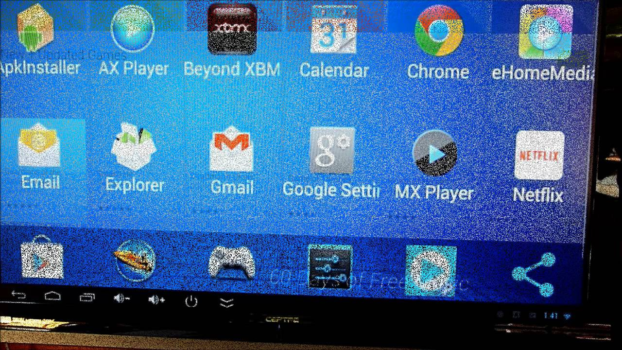 Q7 Android 4 2 Smart TV Box Player RK3188T - YouTube