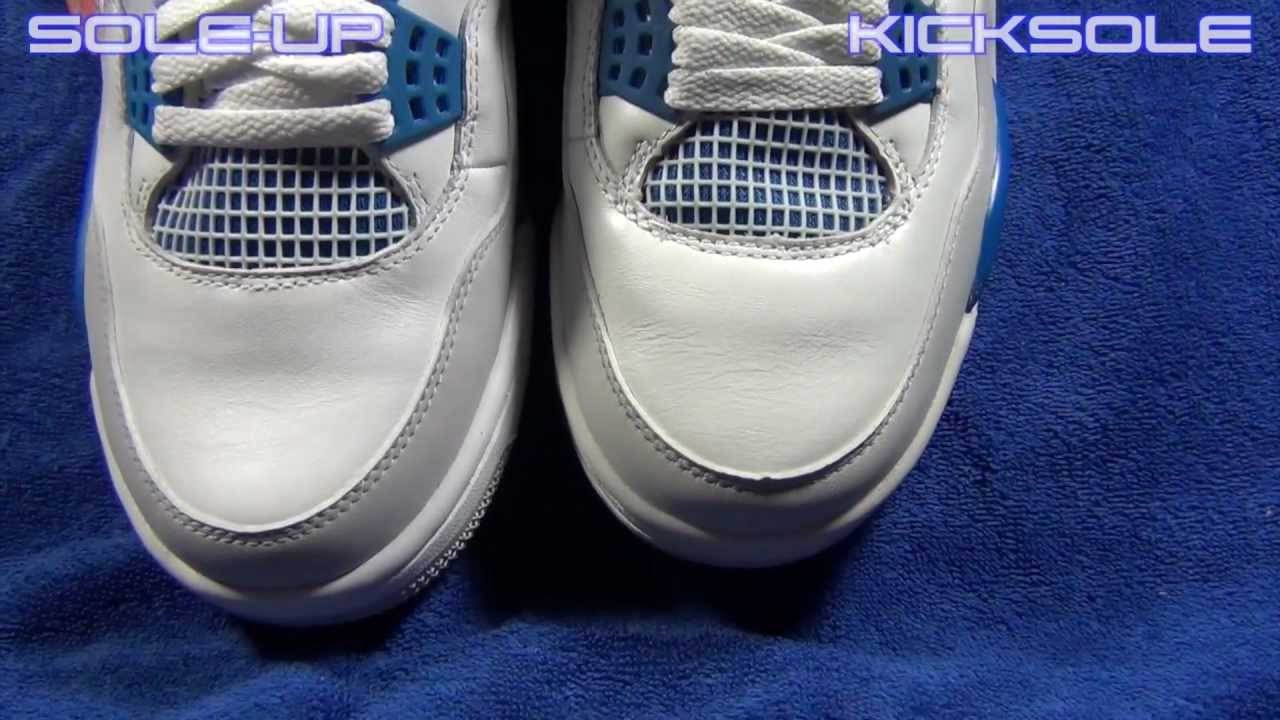 f58a8896392a02 Sole-up and Kicksole Jordan Military 4s Blue Comparison Review Early ...
