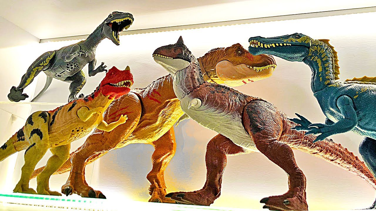 My Jurassic World Toys Collection - Fallen Kingdom Dinosaur Toys & Action  Figures