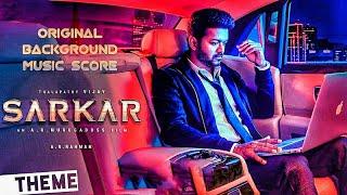 Sarkar (Vijay) - Original Background Theme Music Score   AR Rahman   AR Murugadoss