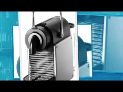 delonghi nespresso pixie electric aluminium en 125 s youtube. Black Bedroom Furniture Sets. Home Design Ideas