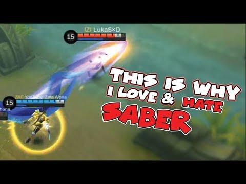 SABER MONTAGE HIGHLIGHTS | LEGEND RANKED GAMEPLAY | KDA 25/5/16 (Mobile Legends)