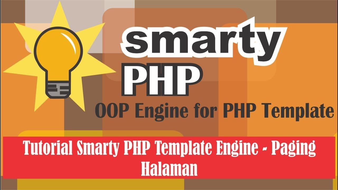 Tutorial Smarty PHP Template Engine - Paging Halaman