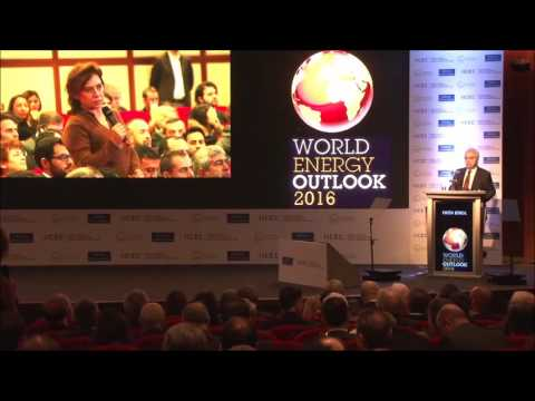 World Energy Outlook 2016/ Turkey Presentation Q & A Session - Dr.  Fatih Birol