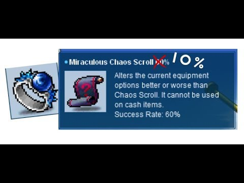 Miraculous Chaos Scroll 60% Almost Made Me Quit - CroosadeMS