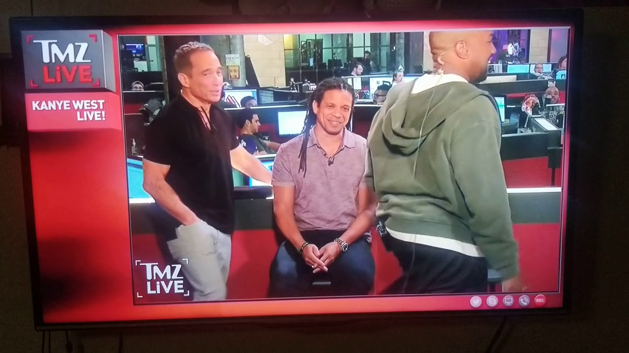 kanye west wilding out on tmz live youtube. Black Bedroom Furniture Sets. Home Design Ideas