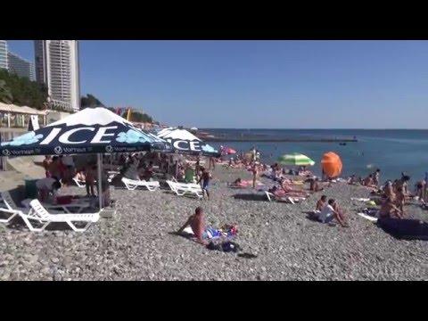 ч1 Обзор Сочи Отдых на Черном море