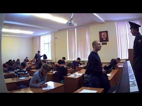 """Розыгрыш в университете """"Весенний призыв"""" / University Prank In Rostov"""