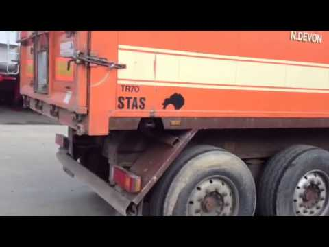 STAS Tipping Trailer For Sale Newton