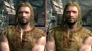 Skyrim Graphics Comparison: PS3 vs. PS4