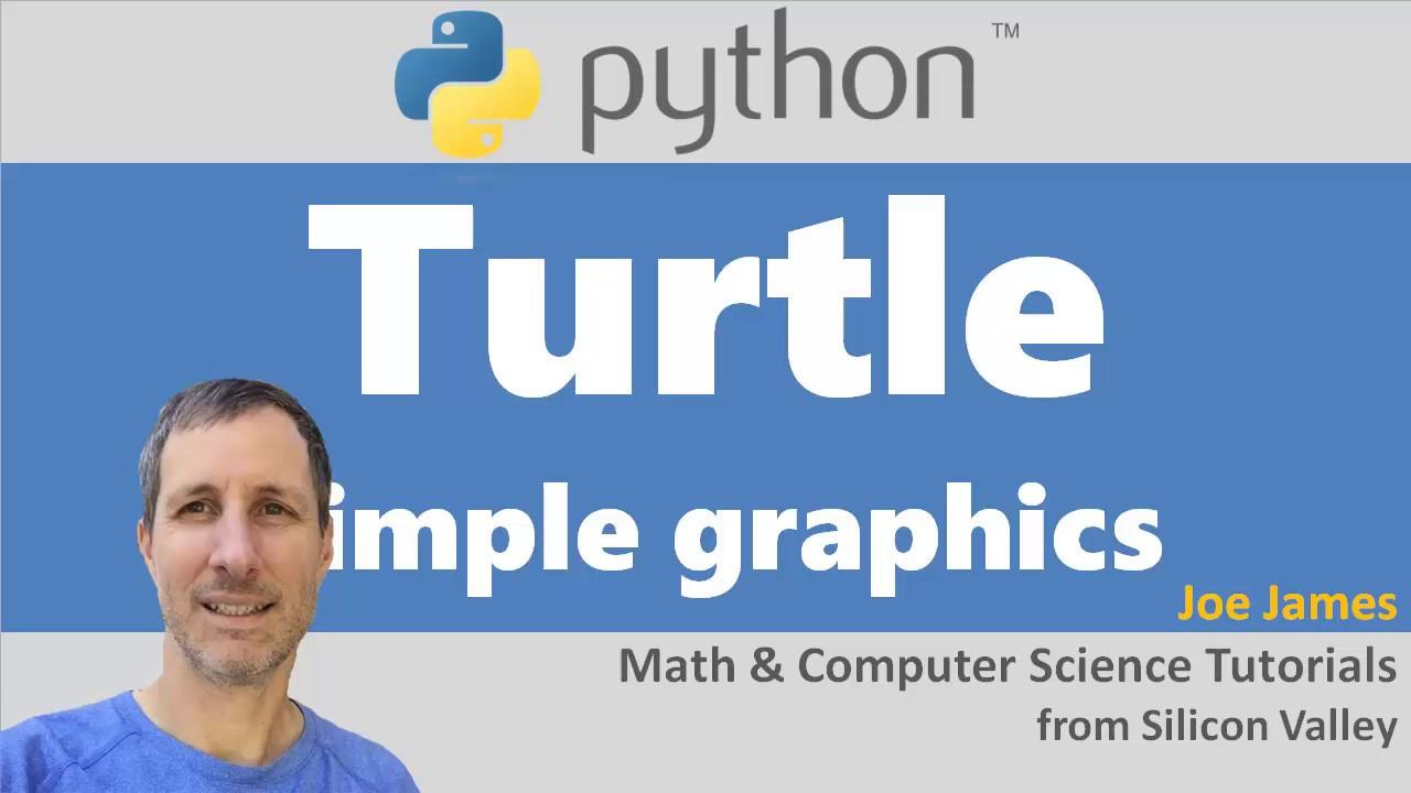 Python: Turtle Graphics Drawing Module