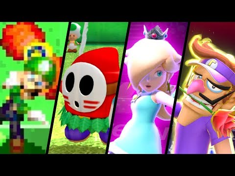 Evolution Of Special Moves In Mario Tennis (2004 - 2018)