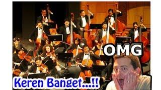 Keren..., Animasi Musik Orkestra Paling Keren Didunia.