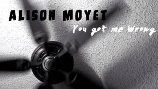 Watch Alison Moyet You Got Me Wrong video
