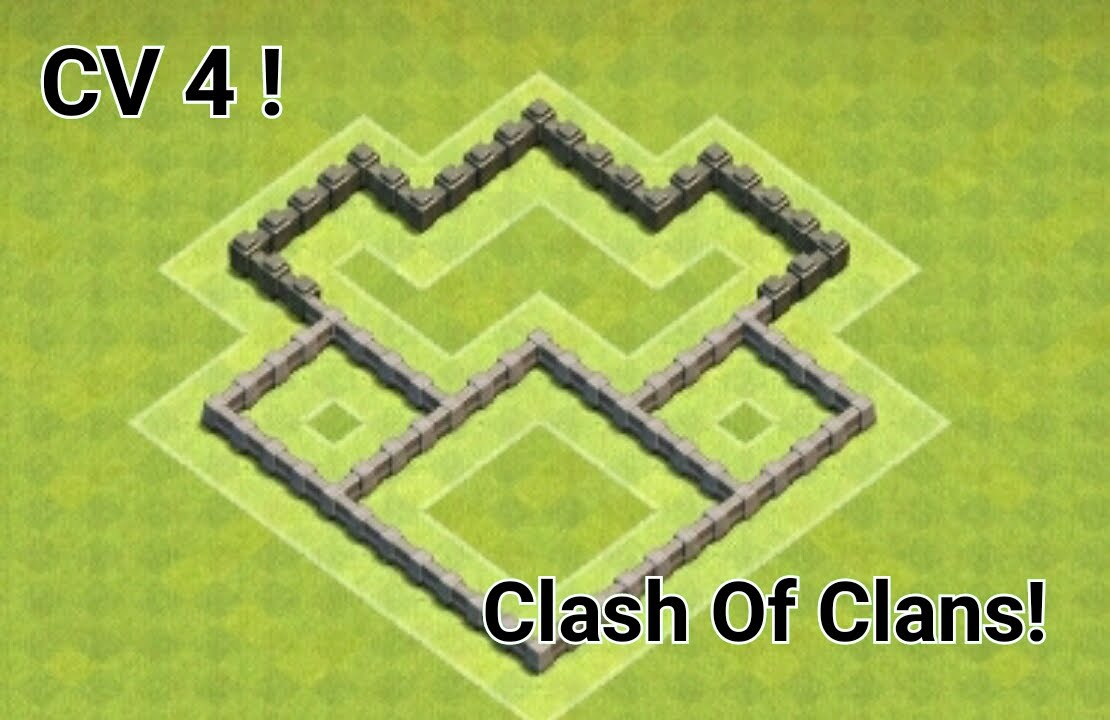 clash of clans layout cv 4 - Layout Cv 4 Clash Of Clans