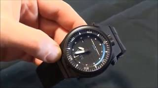 Porsche Design Diver - видео обзор по чесноку наручных часов ПДД