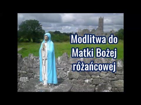 Modlitwa Do Matki Bożej Różańcowej