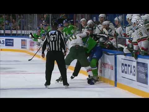 KHL Fight: Maiorov VS Voronkov