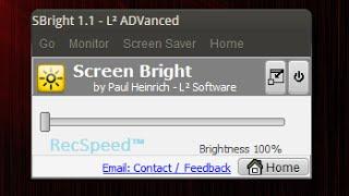 Ekran Parlaklığı Ayarlama Programı   Screen Brightness Program SBRIGHT Tutorial