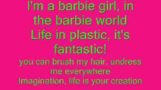 Aqua - Barbie Girl Lirycs