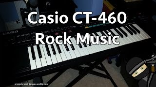 Casio CT 460 - Rock music