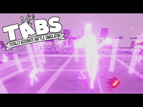 TABS - Huge Neon Boxer Army! - Totally Accurate Battle Simulator Closed Alpha Gameplay