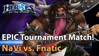 ► EPIC Heroes of the Storm (Pro Gameplay): NaVi vs. Fnatic - ZOTAC Monthly Final