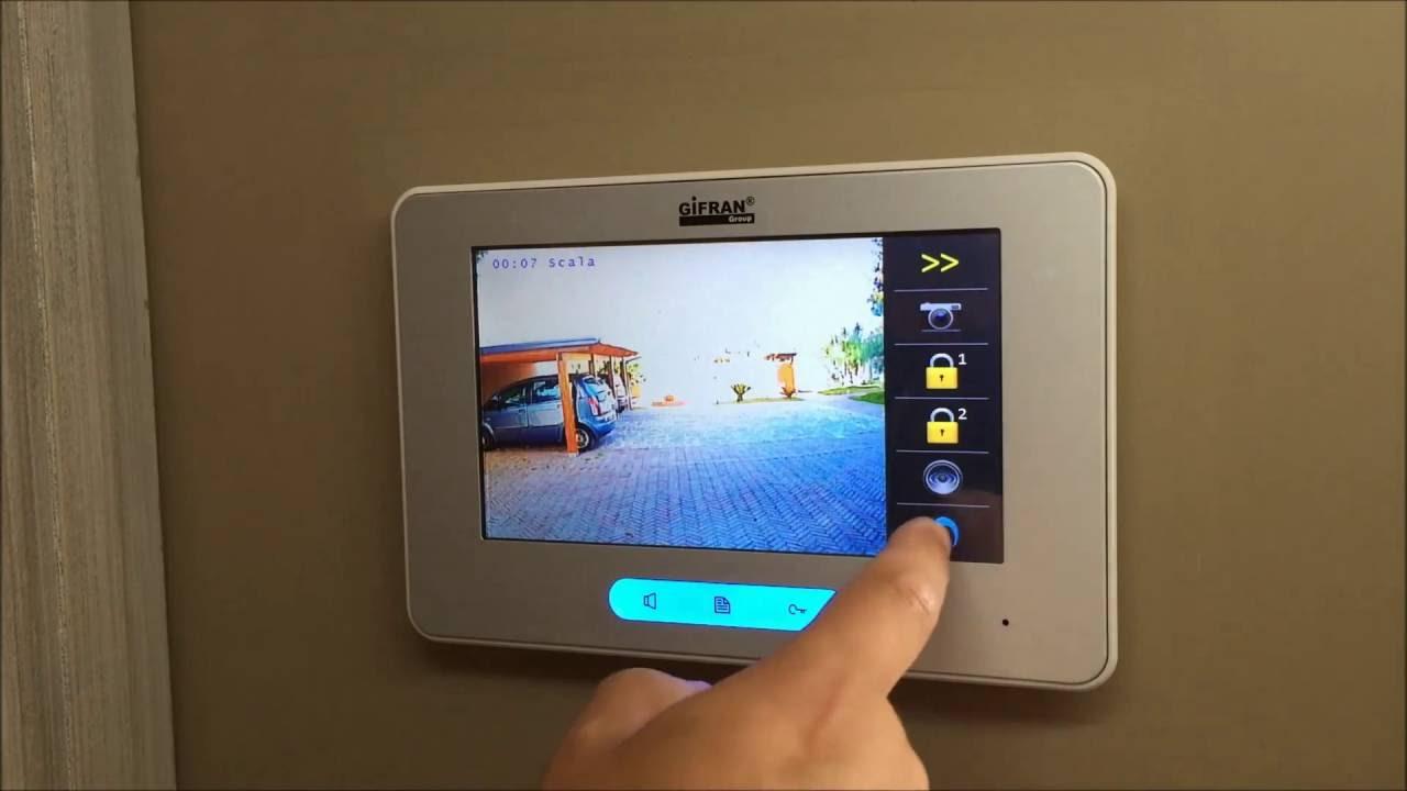 Videocitofono professionale collegamento 2 fili a prezzi for Videocitofono condominiale