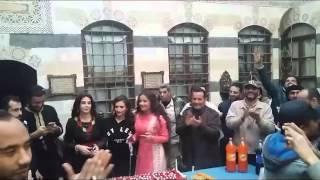 اسرة خاتون تحتفل بعيد ميلاد كاريس بشّار بعراضة شامية