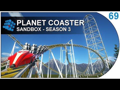Planet Coaster S03E69 - Hydraulic Launch Coaster