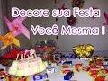 (DIY) Festa de aniversário adolescente GASTANDO POUCO ...
